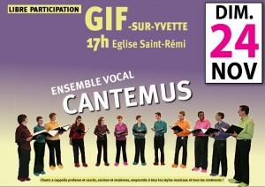 Concert Cantemus gif novembre 2013