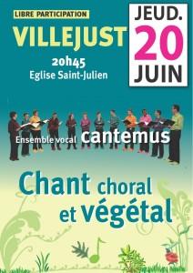 Concert Cantemus villejust juin 2013