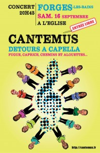 concert cantemus forges